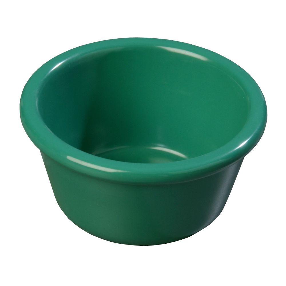 4 oz. Heavy Weight Melamine Smooth Sided Ramekin in Meadow Green (Case of 48)