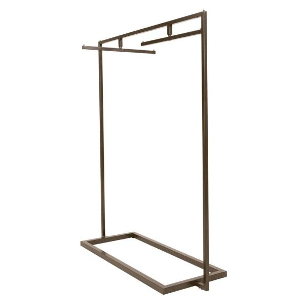 Linea Statuary Bronze Metal Clothes Rack (54 in. W x 66 in. H)