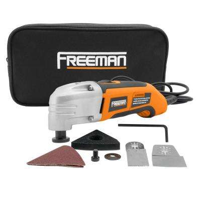 Oscillating Multi-Function Power Tool Kit with Bag