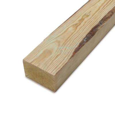 4 in. x 6 in. x 10 ft. #2 4B Ground Contact Pressure-Treated Timber