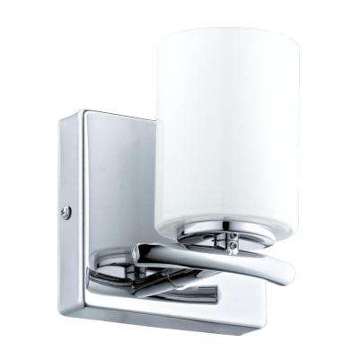 Abete 1-Light Chrome Bath Light