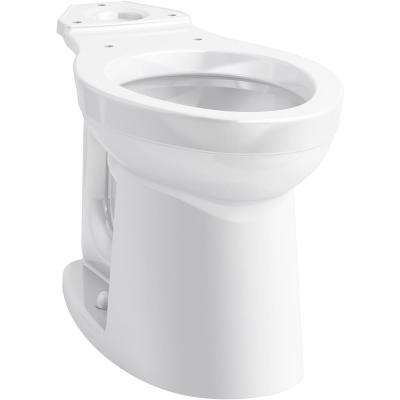 Kingston Elongated Toilet Bowl Only in White
