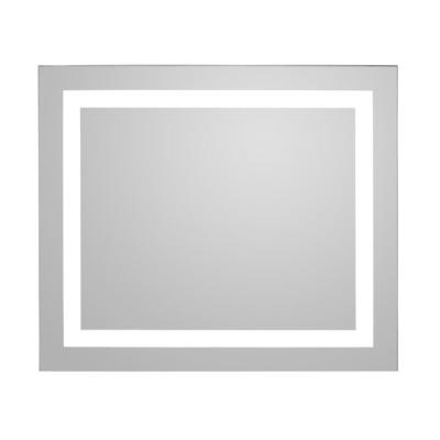 Glimmer 23.6 in. x 27.6 in. Wall Mounted Rectangle Mirror