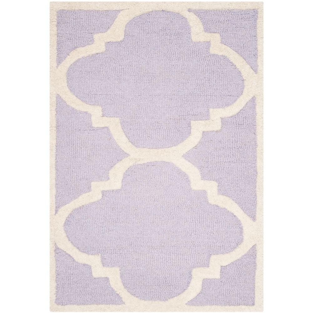 Safavieh Cambridge Lavender/Ivory 2 ft. x 3 ft. Area Rug