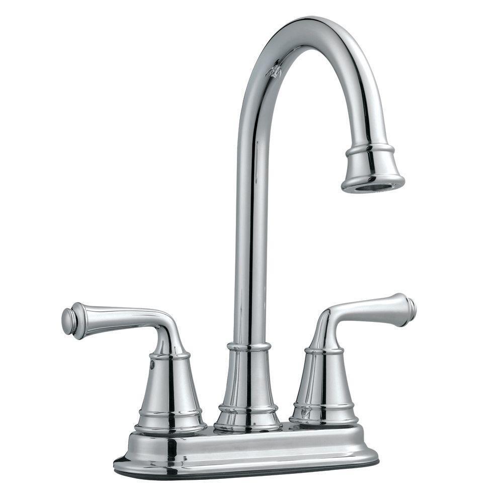Design House Eden 2-Handle Bar Faucet in Polished Chrome