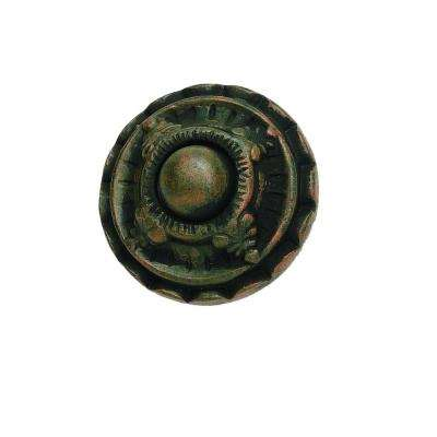 St. Michel Collection 1-1/2 in. Rust Cabinet Knob