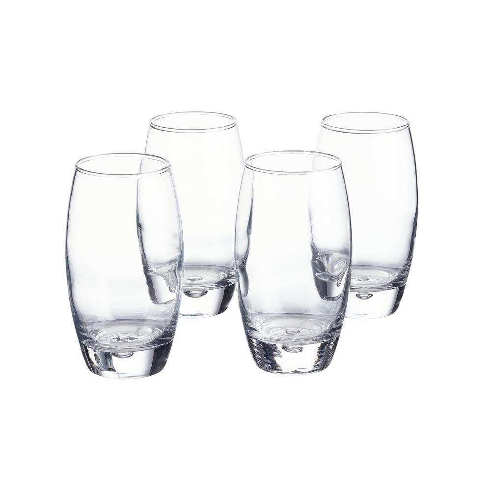 Decatur 16 fl. oz. Glass Tumblers (Set of 4)