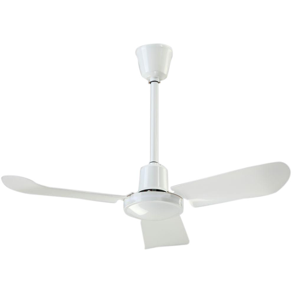 White Cp Indoor Ceiling Fan