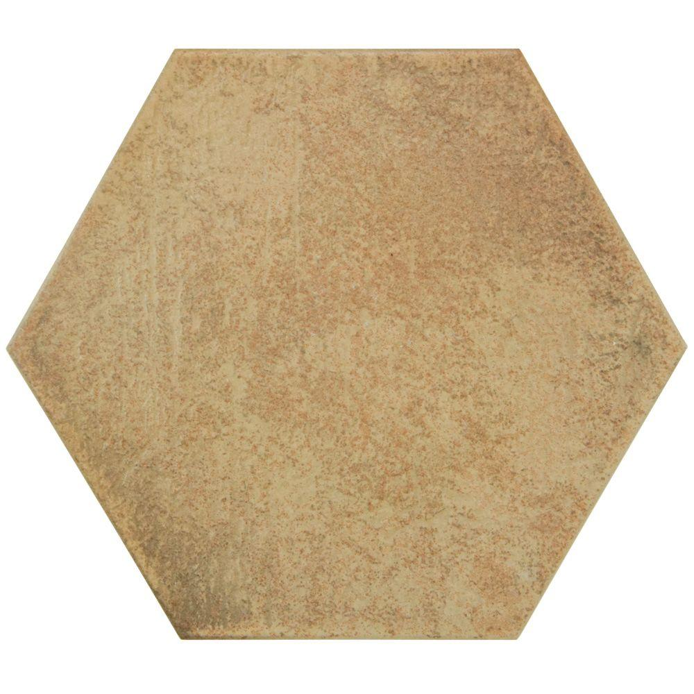 Merola Tile Hexatile Matte Rodeno 7 in. x 8 in. Porcelain Floor and Wall Tile (2.2 sq. ft. / pack)