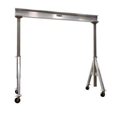 6,000 lb. 12 x 12 ft. Adjustable Aluminum Gantry Crane