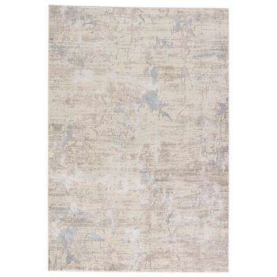 Turtledove 9 ft. x 13 ft. Abstract Area Rug