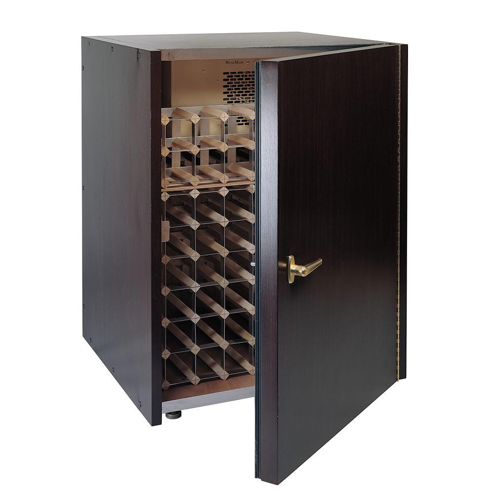Vinotemp 80 Bottle Wine Cellar, Luan Mahogany-DISCONTINUED
