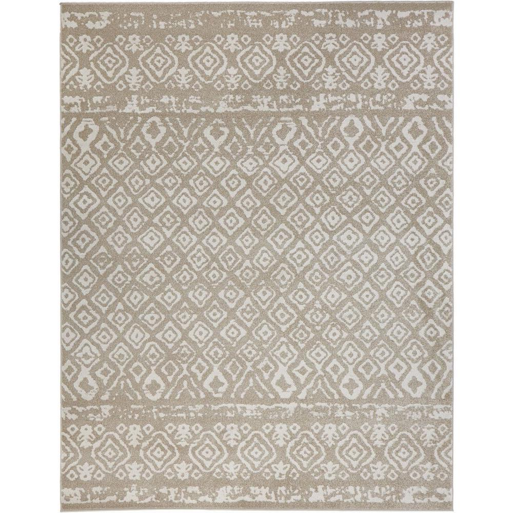 Home Decorators Collection Tribal Essence Beige 8 Ft X 10 Area Rug