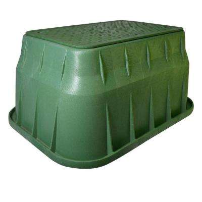 Pro Series 13 in. x 24 in. x 15 in. Valve Box and Bolt-Down Cover - ICV