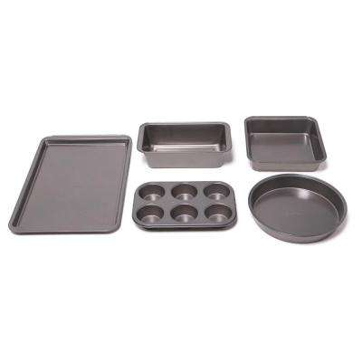 5-Piece Gray Bakeware Set