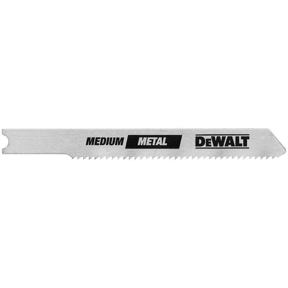 DEWALT 3 in. 14 TPI U-Shank Thick Metal Cutting Cobalt Steel Jig Saw Blade ( 2-pack)
