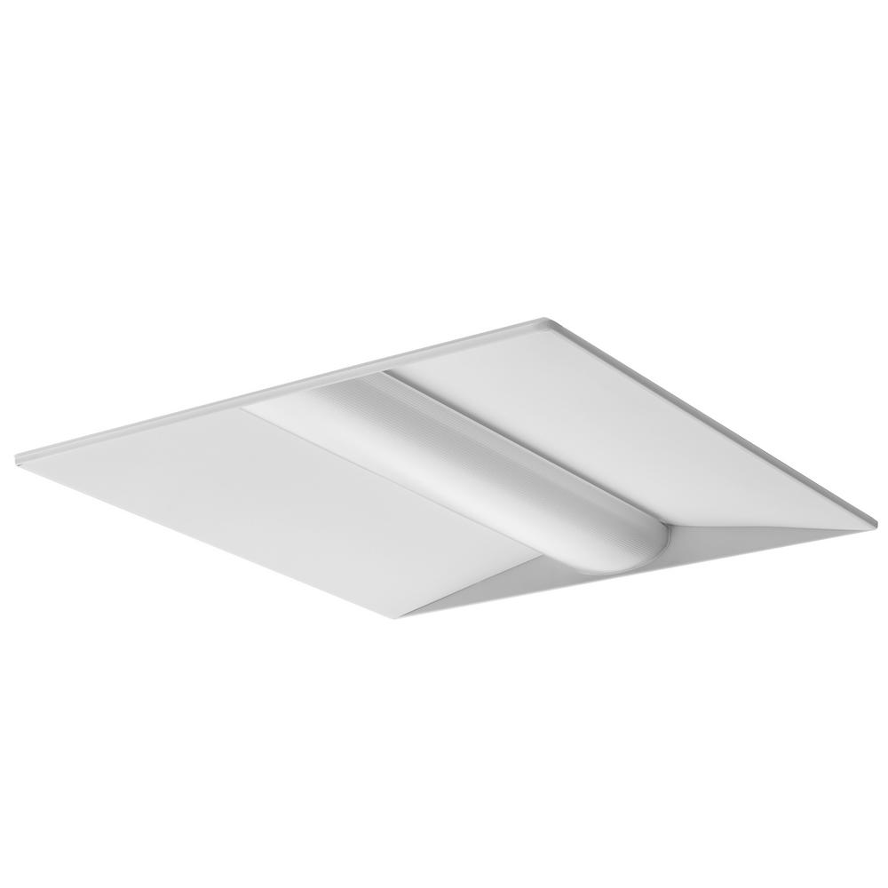2 ft. x 2 ft. 30-Watt White Integrated LED Troffer
