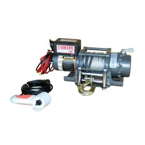 Detail K2 4,500 lb. Capacity 12-Volt Electric Winch with 48 ft. Steel Cable by Detail K2