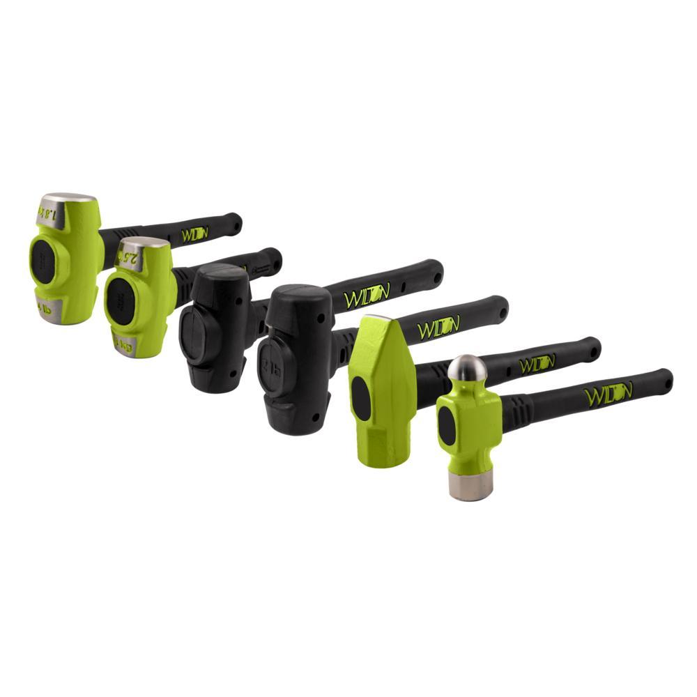 B.A.S.H 6-Piece Master Hammer Set