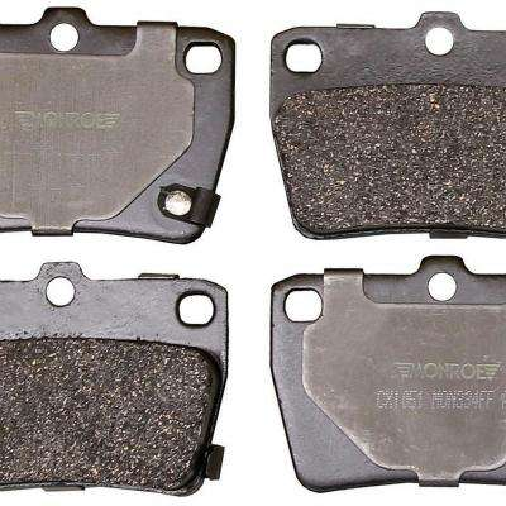Rear Monroe Total Solution Ceramic Brake Pads fits 2004-2005 Toyota RAV4