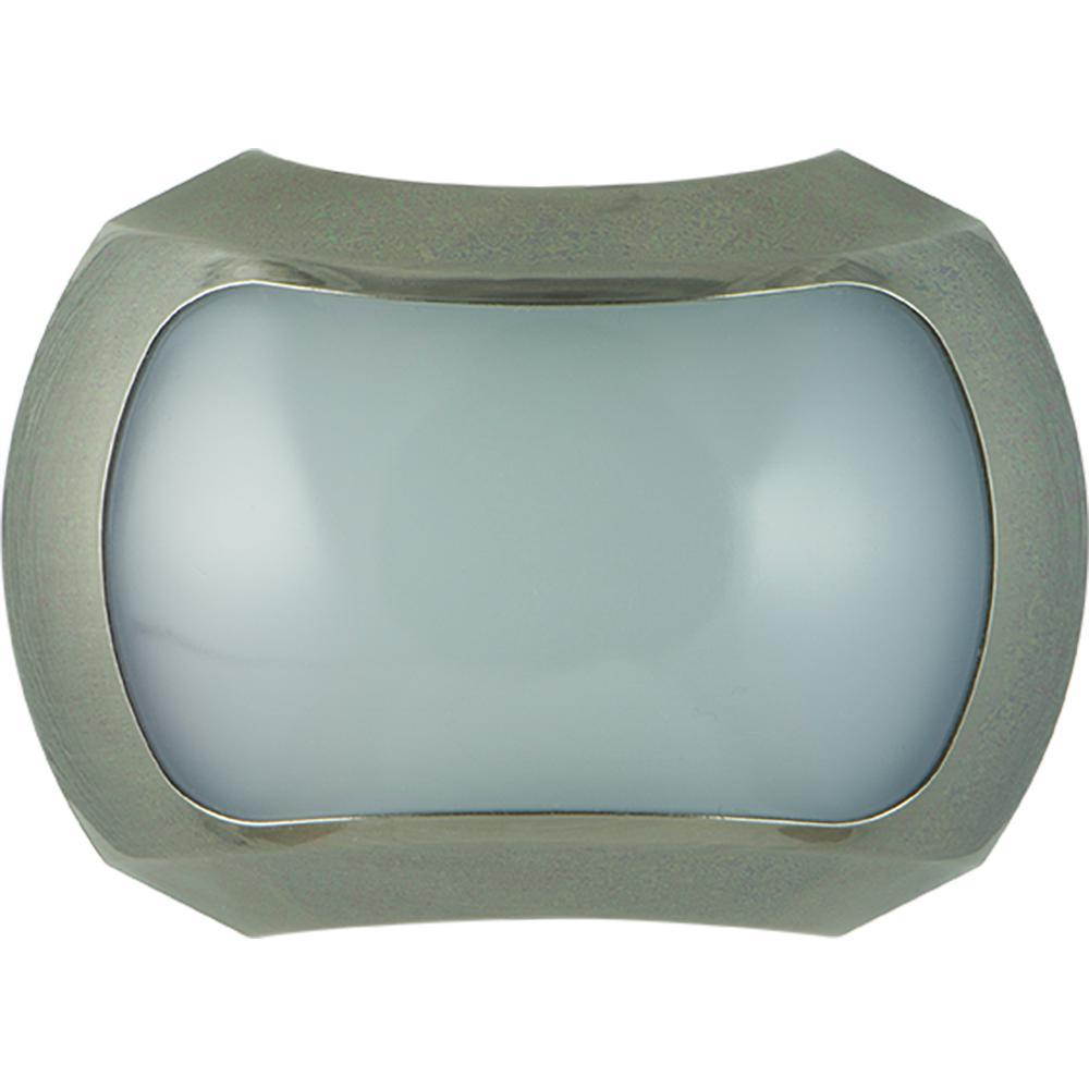 1W Light Sensing Night Light, Brushed Nickel