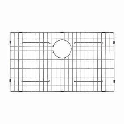 Stainless Steel Bottom Grid for KHF200-33 Single Bowl 33in. Farmhouse Kitchen Sink, 29 11/16in. x 15 11/16in. x 1 3/8in.