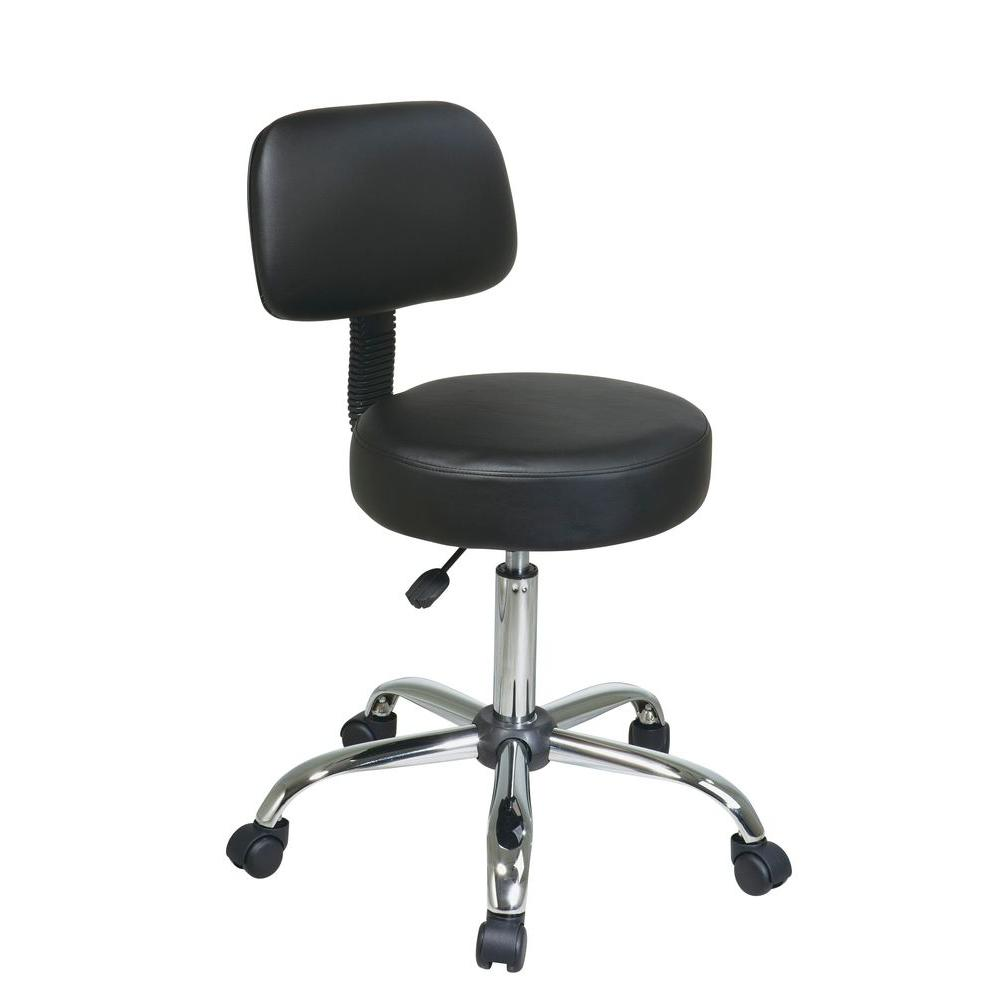 Work Smart Black Vinyl Drafting Stool  sc 1 st  The Home Depot & Work Smart Black Vinyl Drafting Stool-ST235V-3 - The Home Depot islam-shia.org