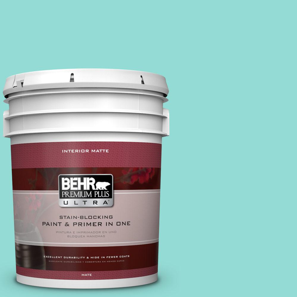 5 gal. #490A-3 Sweet Rhapsody Matte Interior Paint and Primer in