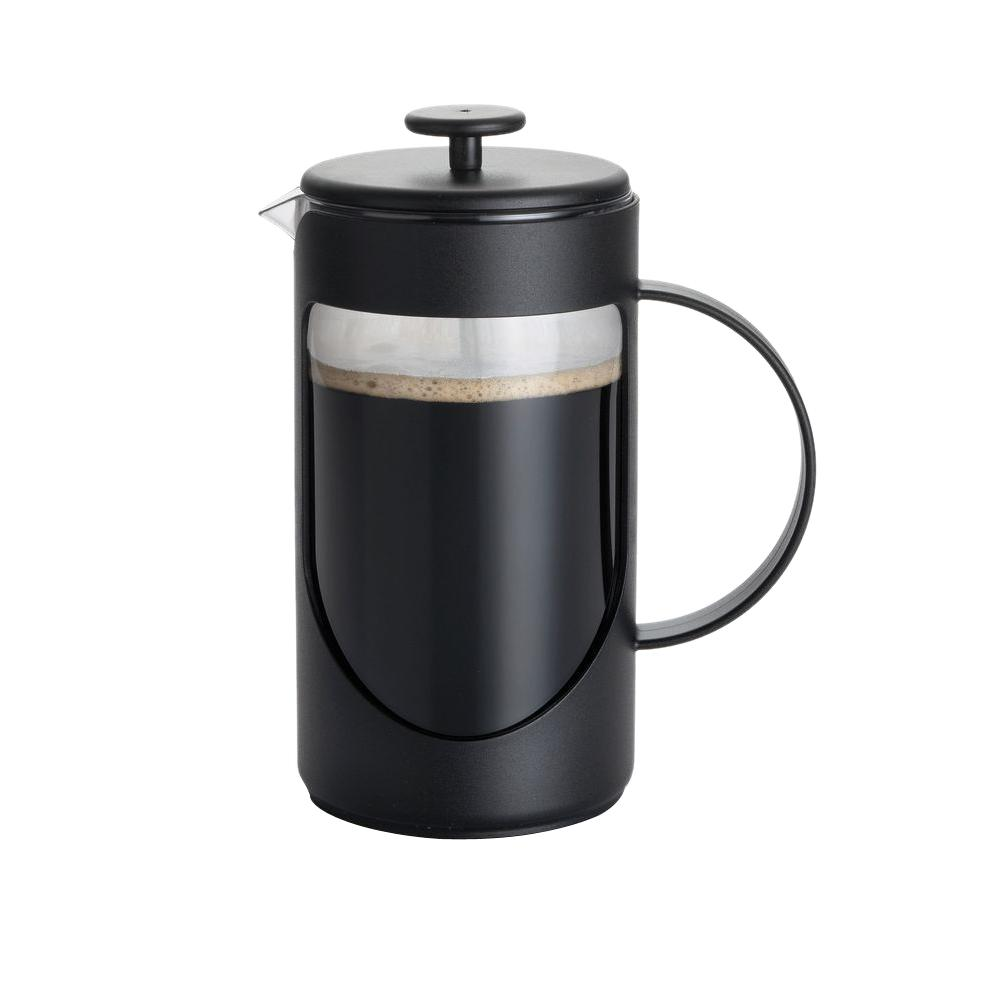 BonJour Ami-Matin 8-Cup French Press in Black