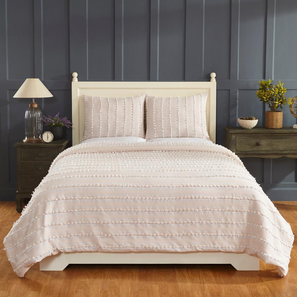 Better Trends Anglique Peach Twin Comforter-SS-QUANTWPE