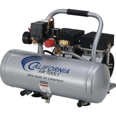 2.0 Gal. 1/2 HP Ultra Quiet and Oil-Free Aluminum Tank Air Compressor