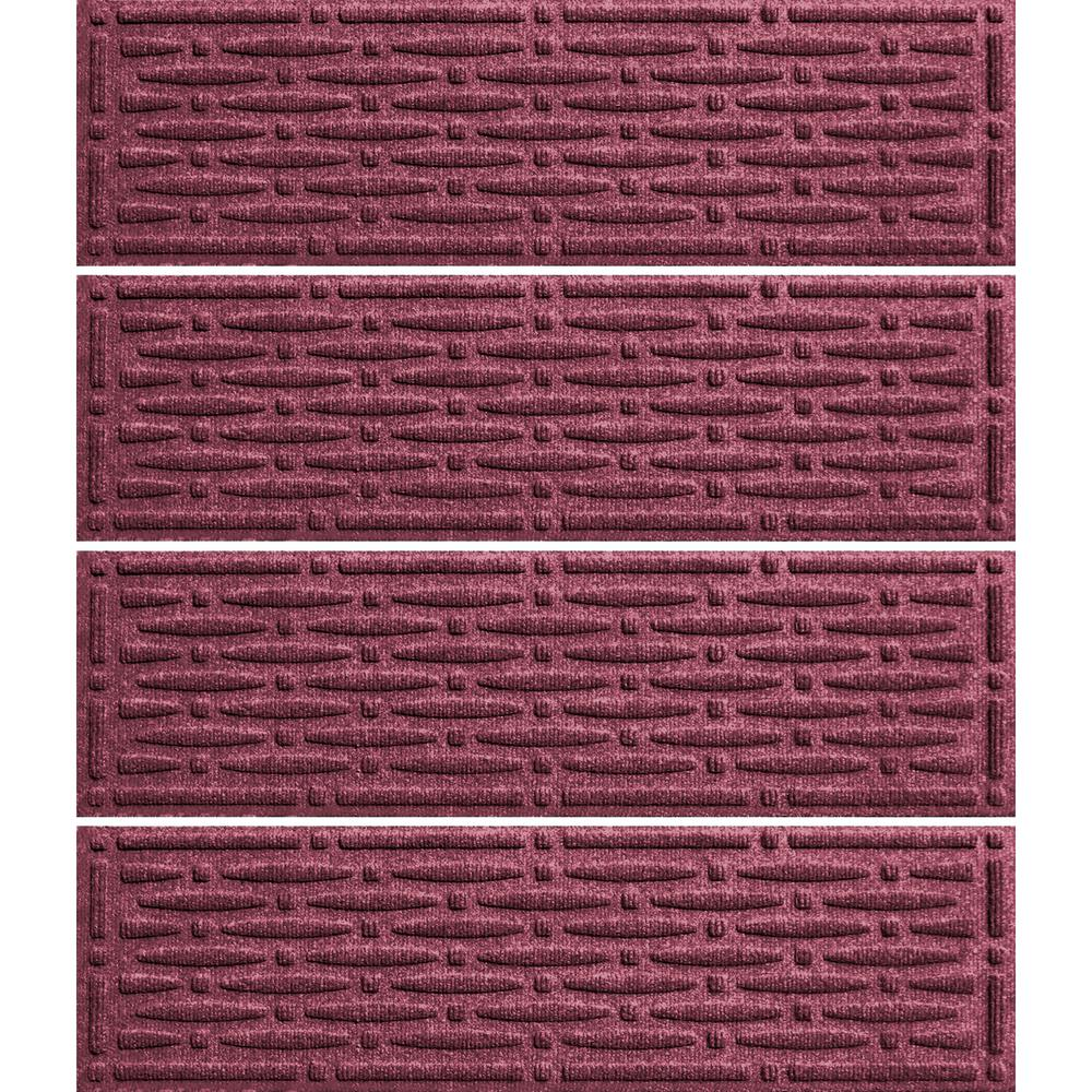 Bordeaux 8.5 in. x 30 in. Mesh Stair Tread Cover (Set