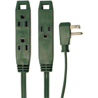 8 ft. 3-Outlet Indoor Extension Cord