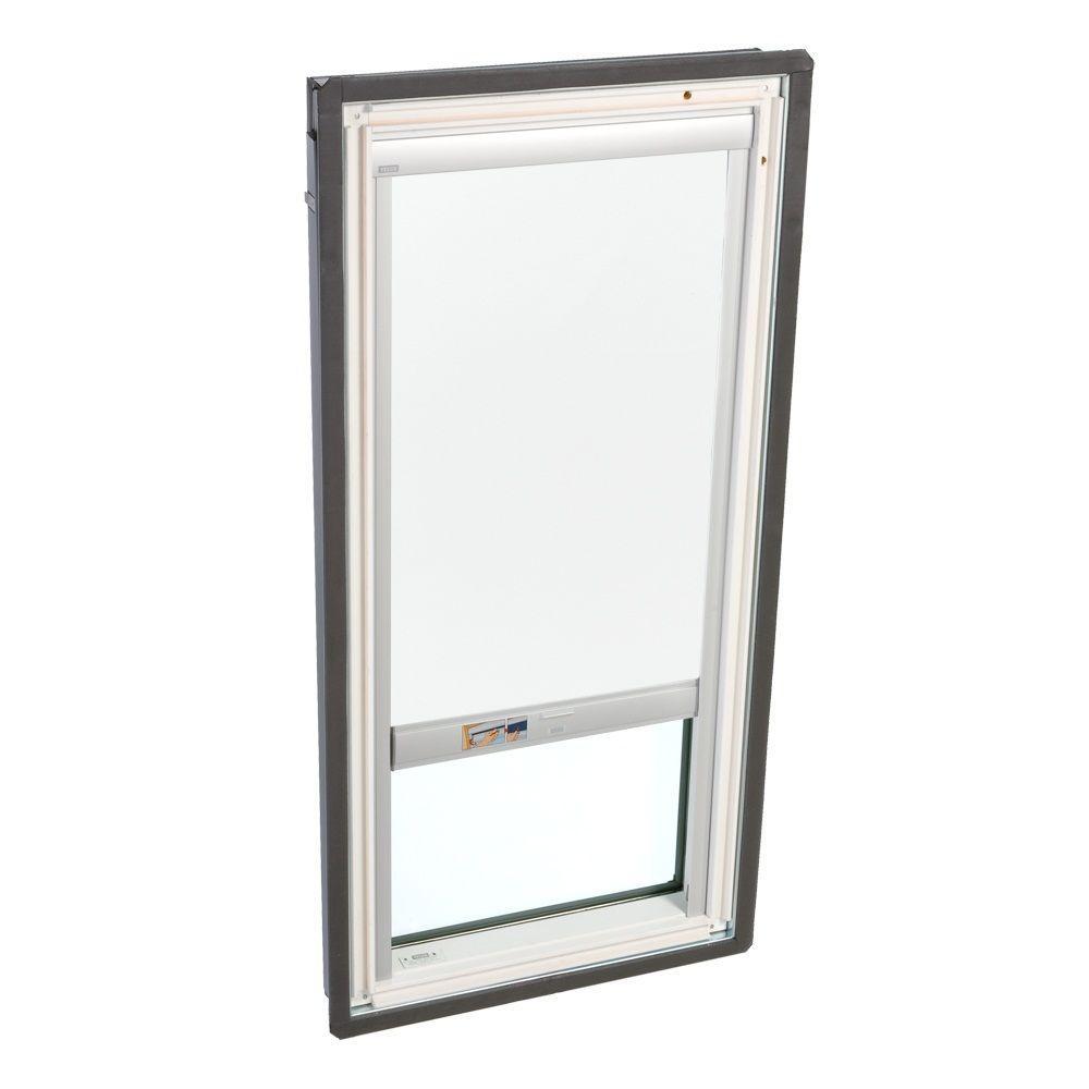 VELUX White Solar Powered Light Filtering Skylight Blind for FS C01 Models