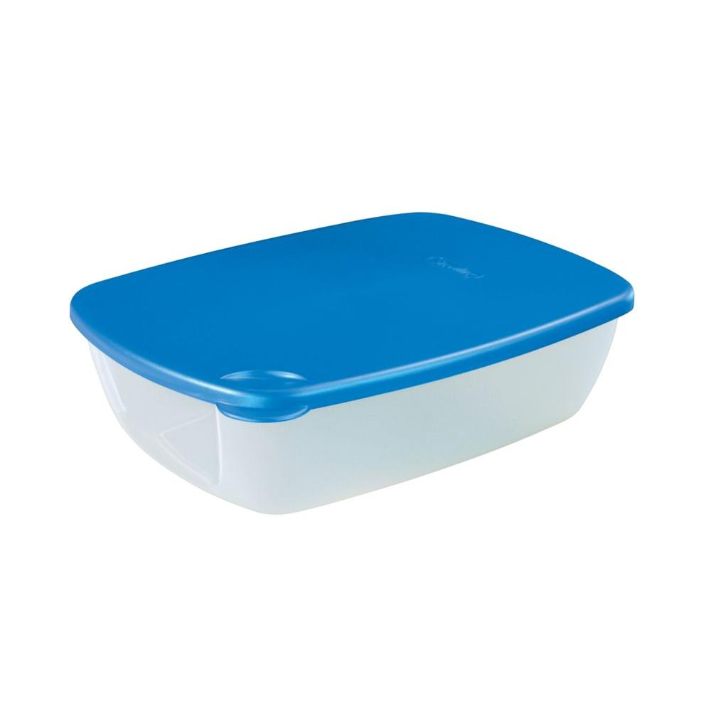 Sterilite Flavor Savers 10 Cup Rectangle Food Storage Container (6-pack)-DISCONTINUED