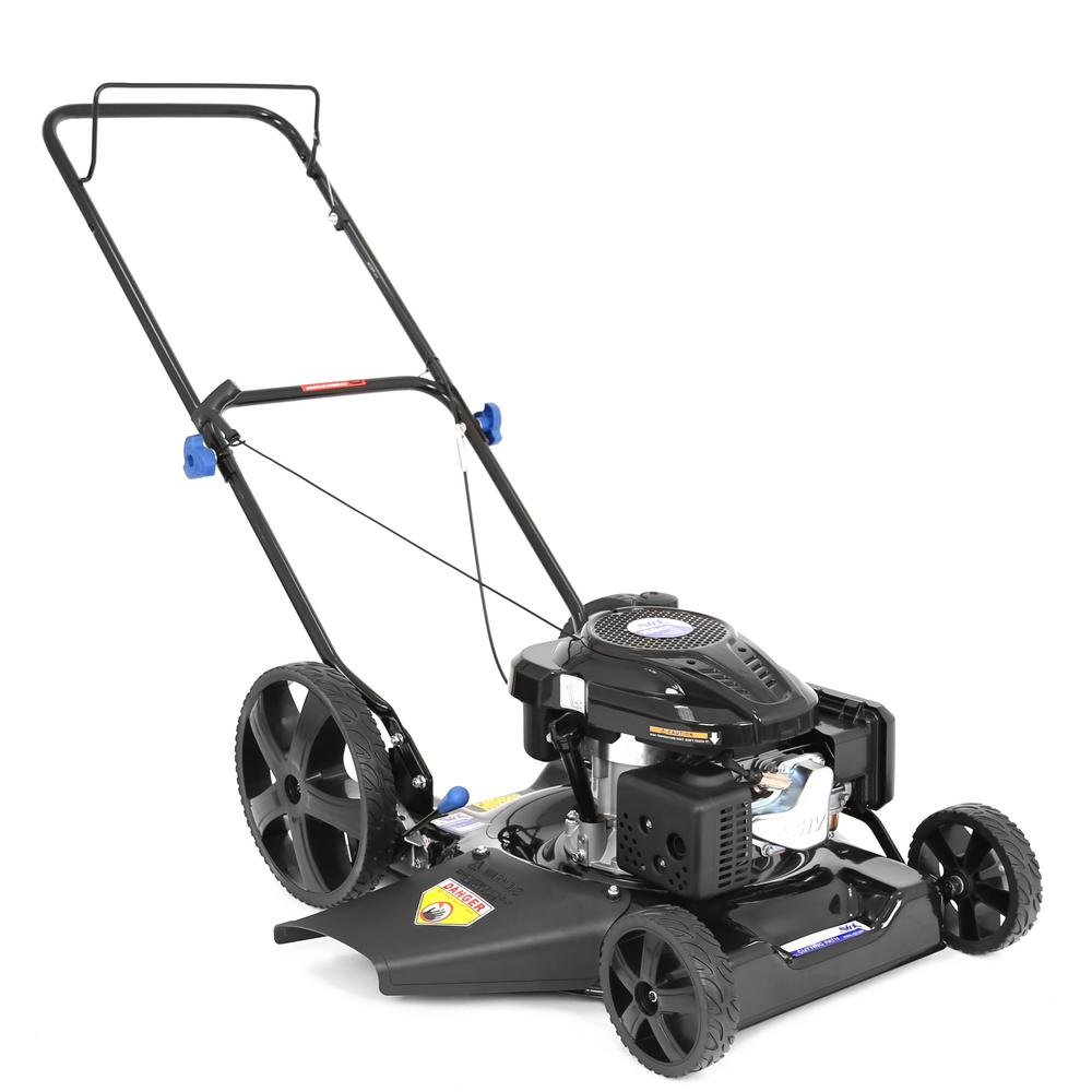 20 in. 159cc Gas Walk Behind Push Lawn Mower