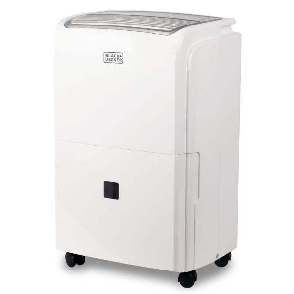 50-Pint Portable Dehumidifier with Built-in Pump