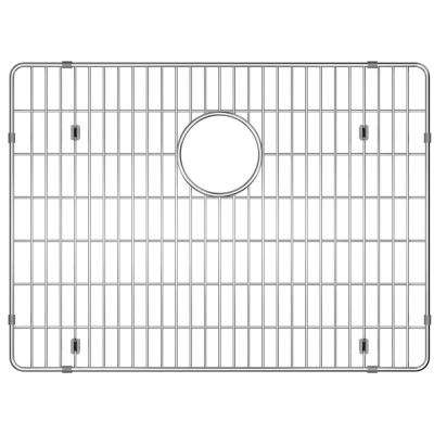 Stainless-Steel Kitchen Sink Bottom Grid Fits Bowl Size 22-1/2 in. x 16-3/4 in.