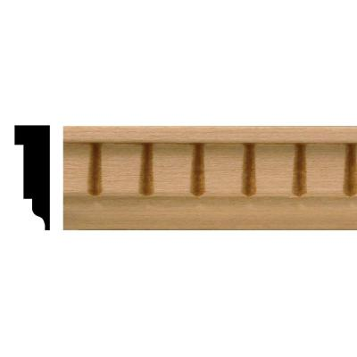 1/4 in. x 3/4 in. x 4 ft. Basswood Dentil Panel Moulding