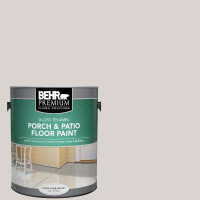 1 gal. Home Decorators Collection #HDC-MD-21 Dove Gloss Enamel Interior/Exterior Porch and Patio Floor Paint