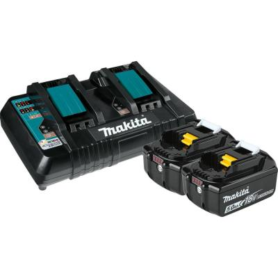 18-Volt 5.0Ah LXT Lithium-Ion Battery and Dual Port Charger Starter Pack