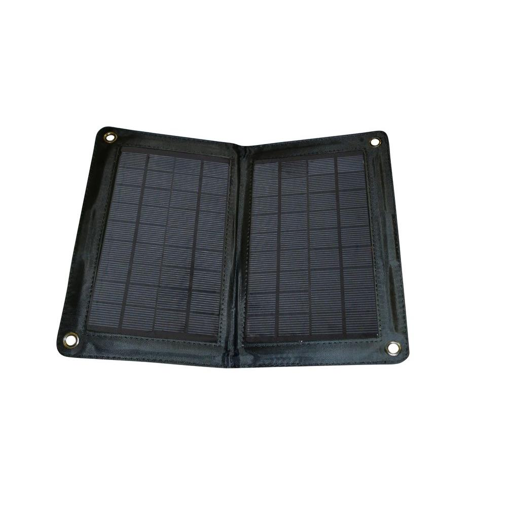 Nature Power 10-Watt Folding Solar Panel for 12 Volt Charging