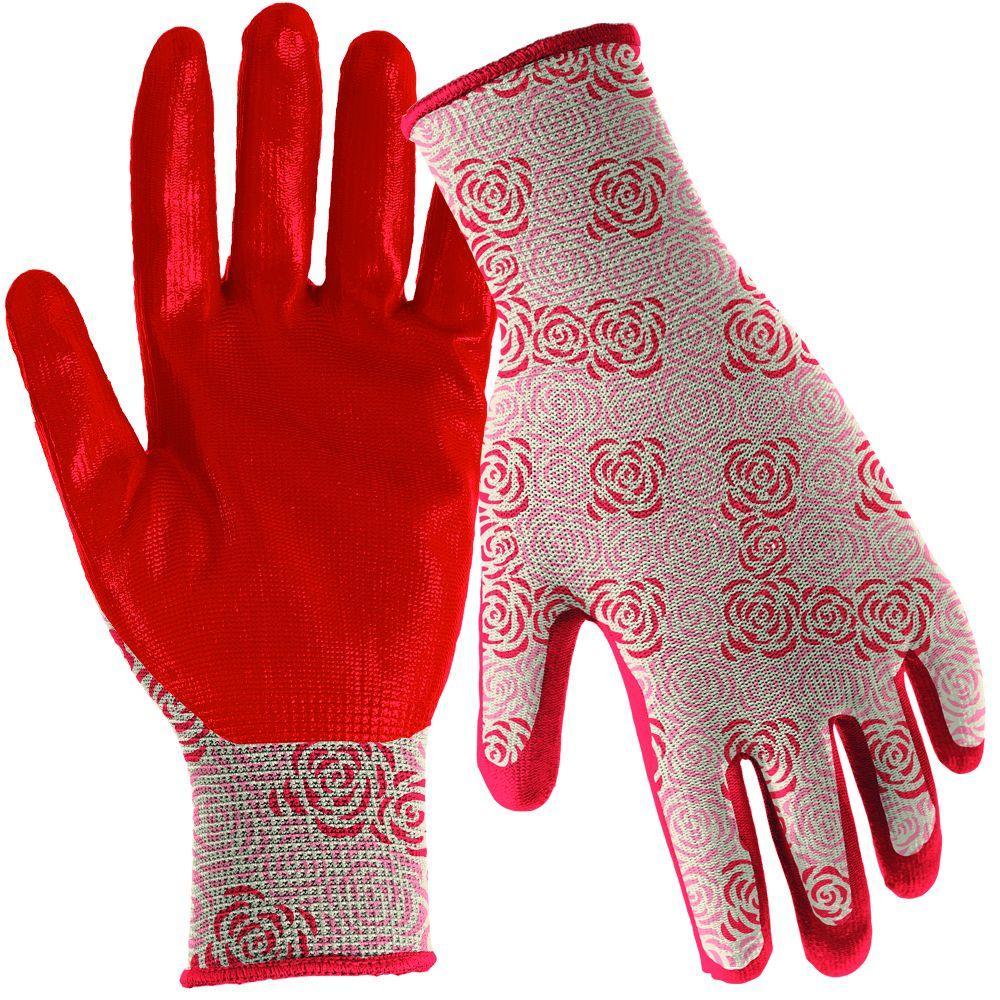Nitrile Dip Women's Medium/Large Gloves (3 per Pack)