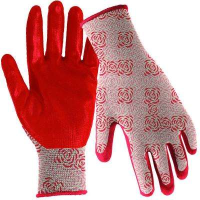 Nitrile Dip Women's Medium/Large Gloves (3 per Pack)