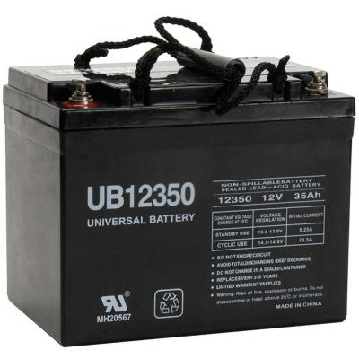 12-Volt 35 Ah I2 Terminal Sealed Lead Acid (SLA) AGM Rechargeable Battery
