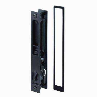 Croft Black Flush Mount Sliding Door Handle Set