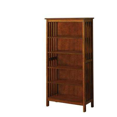 Lankton Antique Oak Bookcase