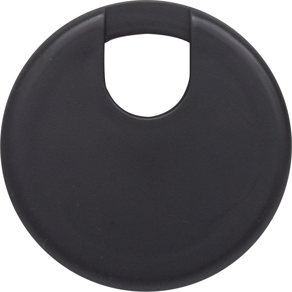 GE 2-1/2 in. Furniture Hole Cover - Black-DISCONTINUED