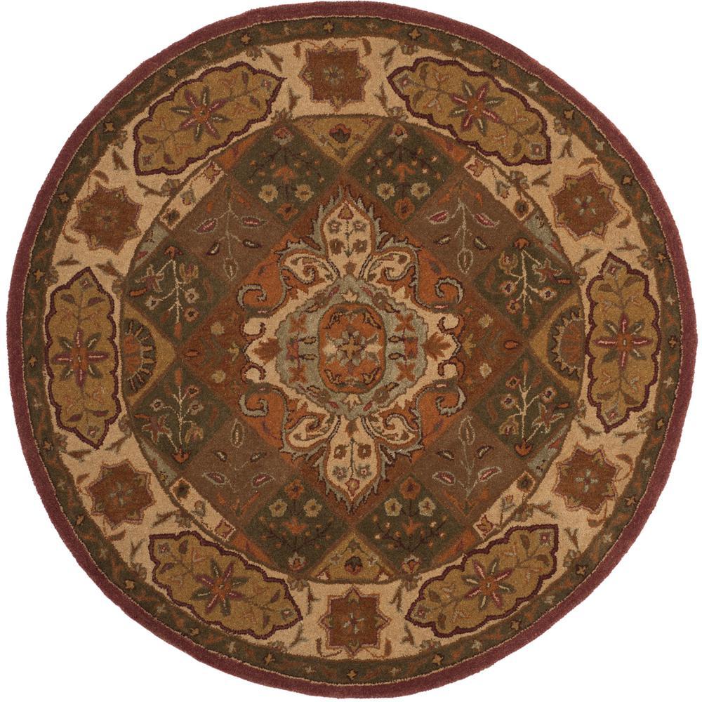 10 Ft Round Oriental Rugs