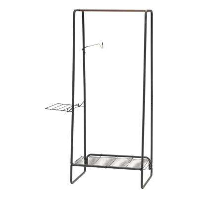 Black Metal Clothes Rack (35 in. W x 59 in. H)